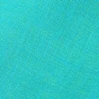 Coton uni - turquoise - UN23